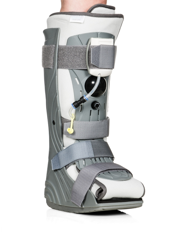 Scamper Pneumatic boot with pressure control