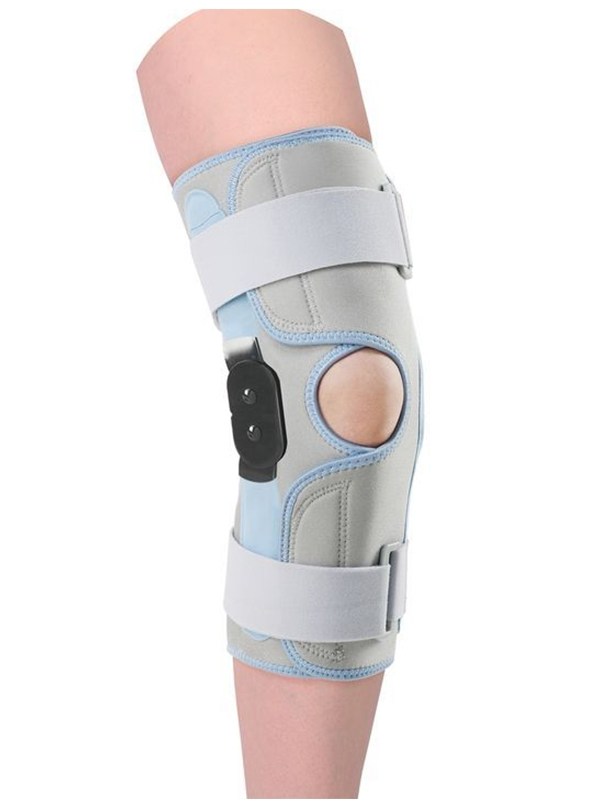 Stabilizing knee brace Type: without regulation of flexion movement